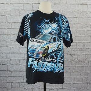 Carl Edwards Nascar All Over Pint Shirt XL